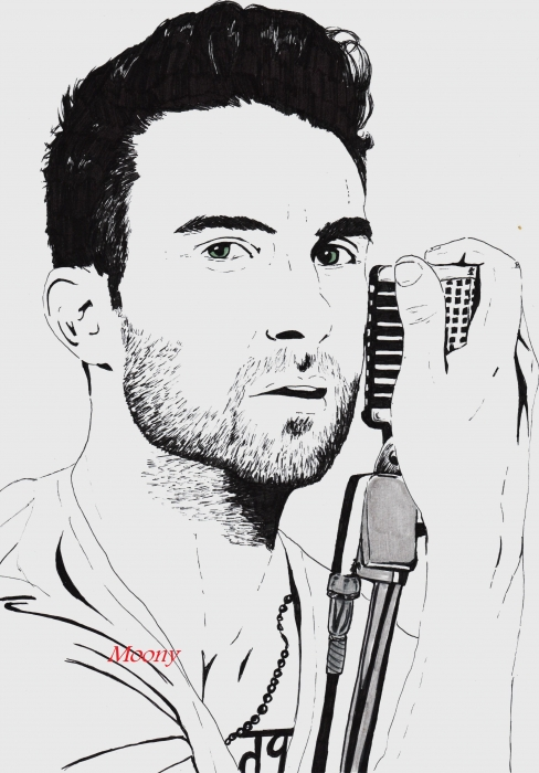 Adam Levine por Moony36